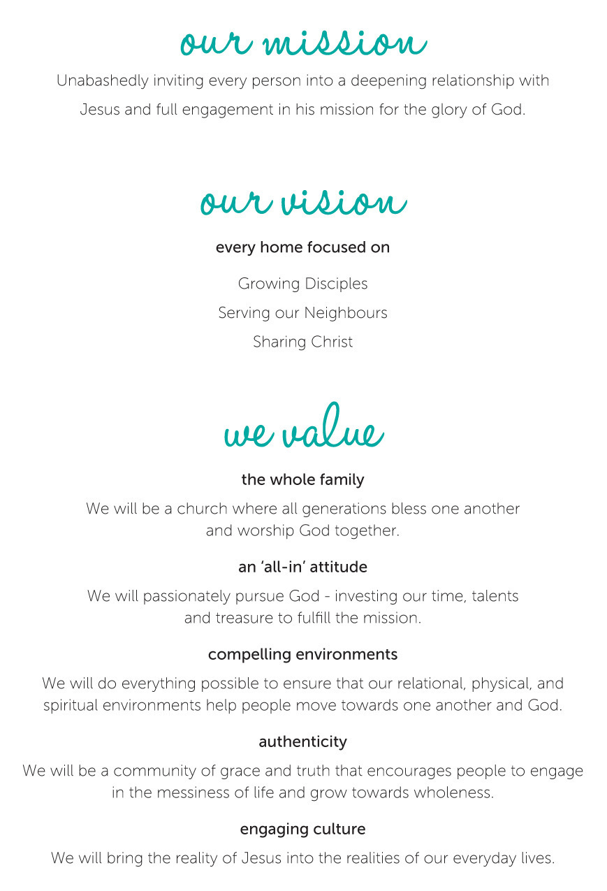 ppac mission, vision, values