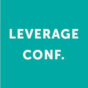 Link buttons - Leverage Conference